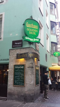 Restaurant Goldenes Dachl: Very good