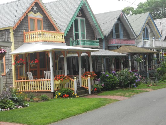 Martha's Vineyard Camp meeting Association (MVCMA): cottages a must see
