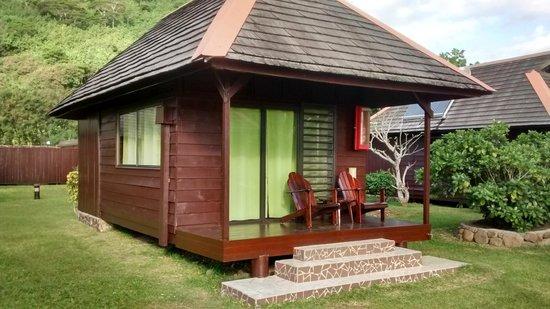 Hotel Kaveka: Outside of the good bungalow