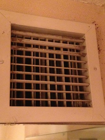 Embassy Suites by Hilton Detroit Southfield: Filthy Air Vent