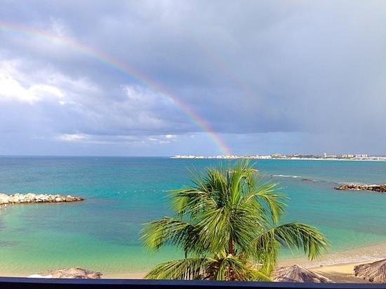 Flamingo Beach Resort : view from 7432