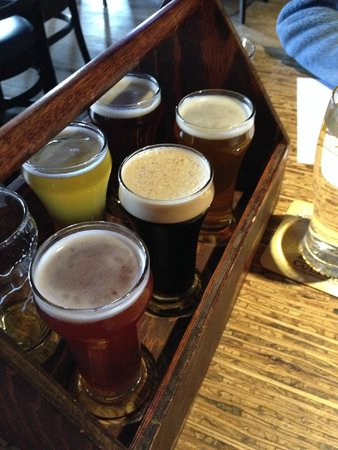 Banff Ave Brewing Co : The sampler