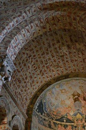 Basilica de San Vicente : Detalhes no interior - teto