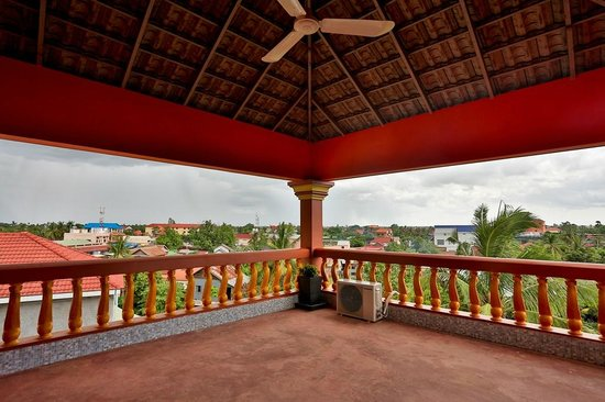 My Home Cambodia: Rooftop view
