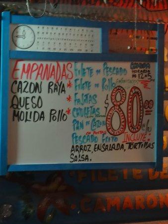 Miriam: Perfect menu!