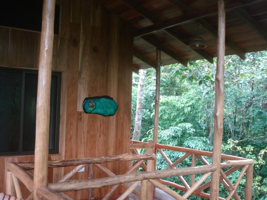 Tree Houses Hotel Costa Rica: Porch at Yiguirro