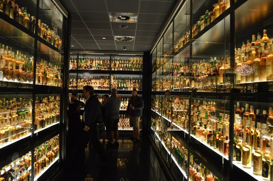 The Scotch Whisky Experience: Just one-third of the Diageo Claive Vidiz Collection held at the Experience