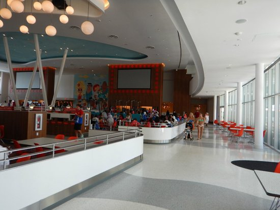 Universal's Cabana Bay Beach Resort: Foodcourt