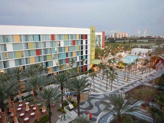 Universal's Cabana Bay Beach Resort: View from 4702