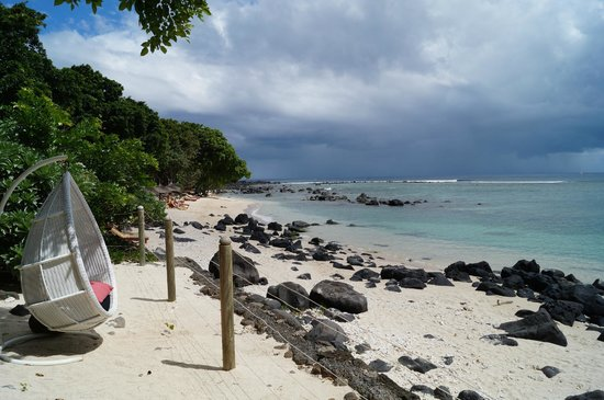 Club Med La Plantation d'Albion: Secluded beach