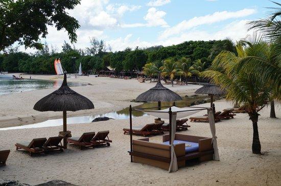 Club Med La Plantation d'Albion: Main beach