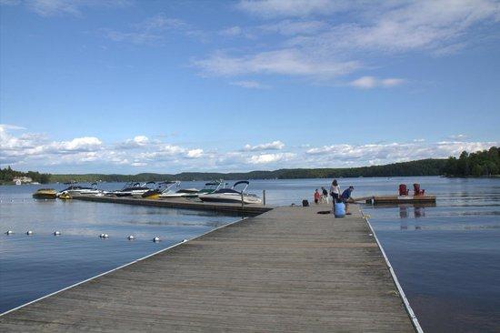 Hidden Valley Resort: Dock