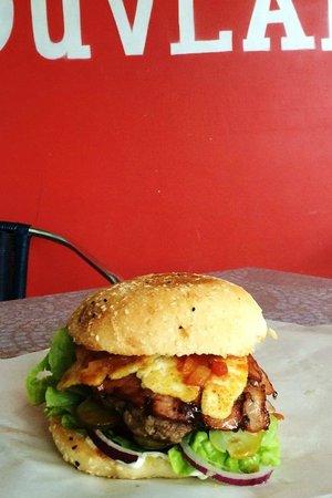 Tasty's Souvlaki and No.1 Burgers: My Gourmet burger