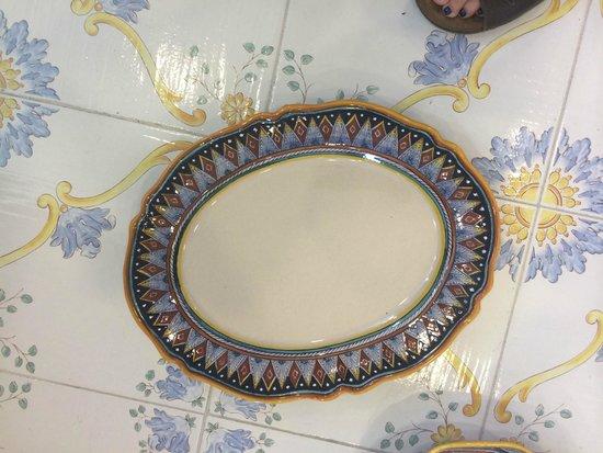 Ceramiche Cosmolena di Margherita di Palma: dishes