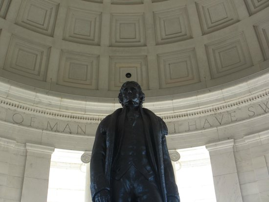Jefferson Memorial : Jefferson's Statue