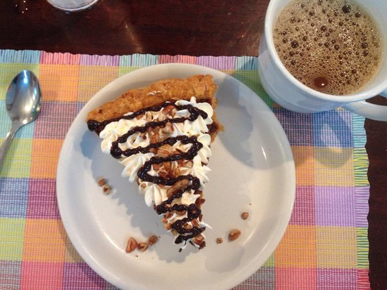 Yummies Bistro: Pie from heaven above.
