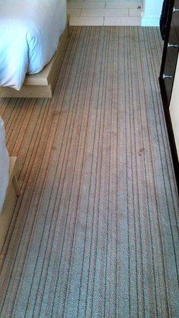 Hilton Fort Lauderdale Marina: More dirty carpet