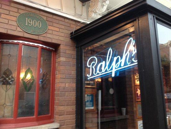 Ralph's Italian Restaurant : Has that old Italian look.