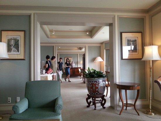 Hotel Chinzanso Tokyo : guest lounge