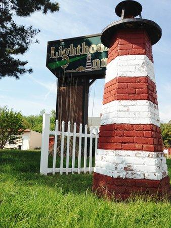 The Lighthouse Inn: our lighthouse