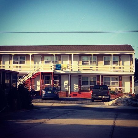 The Lighthouse Inn: our builiding across the street