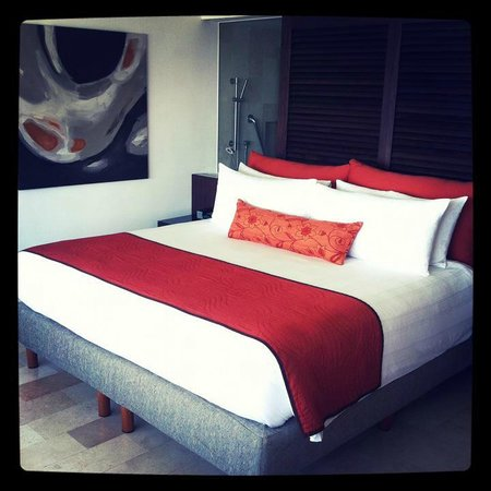 Presidente InterContinental Cancun Resort: Suite - King bed