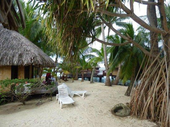 Maitai Polynesia Bora Bora: the beach bungalows