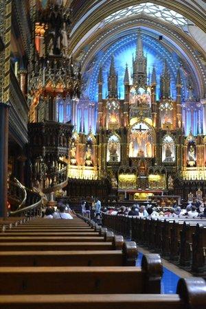 Basilique Notre-Dame de Montréal : Inside