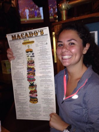 Macado's: Long list of sandwiches