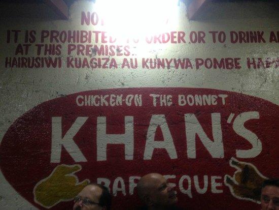 Khan's BBQ : Wall art