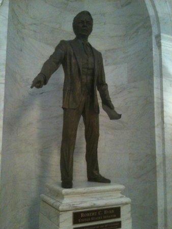 Statute at WV State Capitol complex