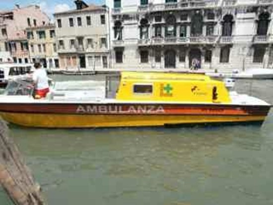 Cannaregio: The Ambulance boat