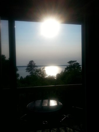 Sunset Condominiums : View looking out patio door