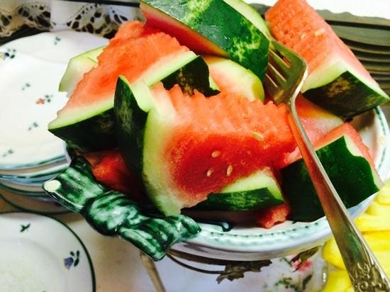 Gingerbread Cottage Bed and Breakfast : Watermelon Wedges