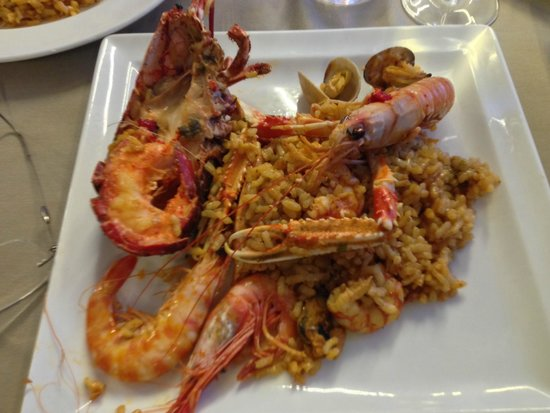 Can Majó : Lobster Paella