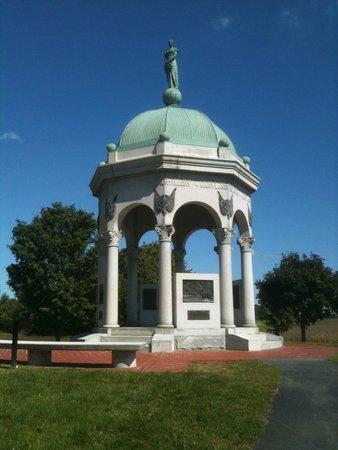 Antietam National Battlefield: Maryland Monument on Antietam Battlefield