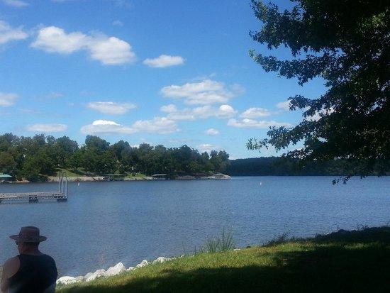 King Creek Resort and Marina: fantastic scenery