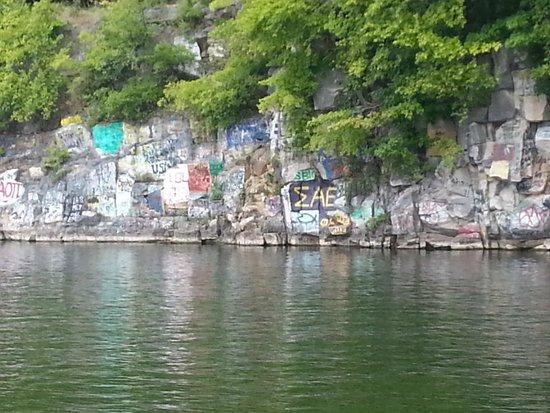 King Creek Resort and Marina: The rock quarry