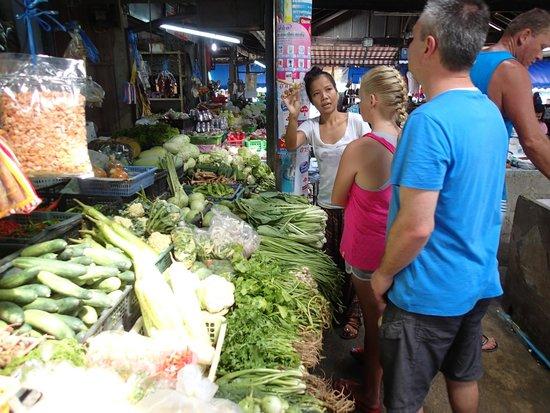 Ying's Thai Cooking Class: Fresh food market