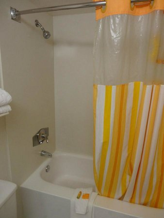 La Quinta Inn & Suites Seattle Sea-Tac Airport: Shower/bathtub
