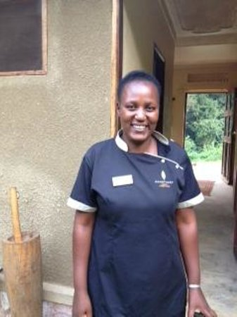 Sanctuary Gorilla Forest Camp: Princess the Cosmetician and Massage therapist