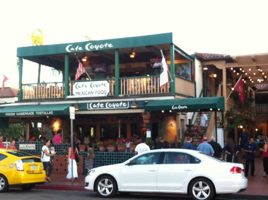 Cafe Coyote: Front of Restaurant