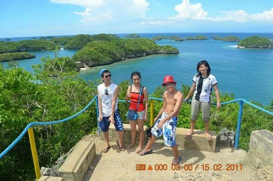 Hundred Islands National Park : enjoying with my family