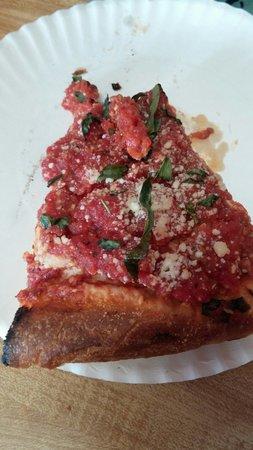 Mario's Pizza and Italian Eatery: Thick nona's