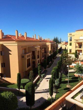 Hotel Baia da Luz: внутренняя территория отеля