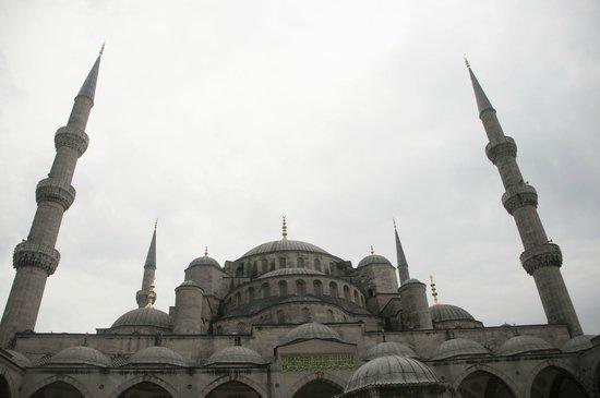 Mosquée Bleue (Sultan Ahmet Camii) : Outside