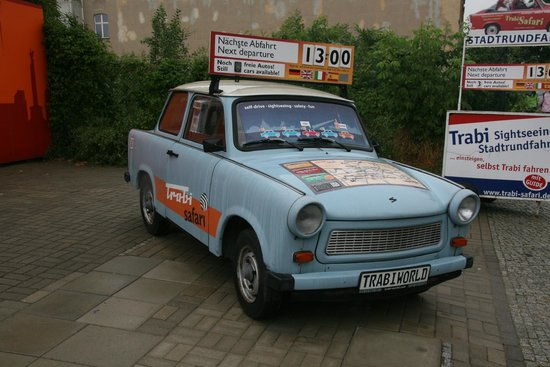 The Berlin Experts- Walking Tours: East German Car