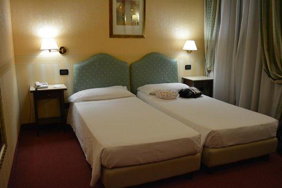 Hotel Tritone : Camas super comodas