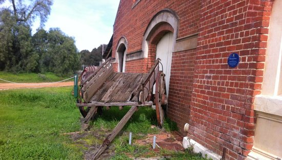 Mount Ophir Estate: Wagon relic of times gone by