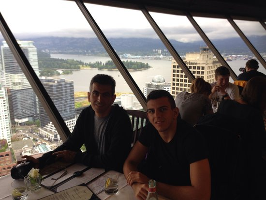 Hyatt Regency Vancouver : Maher and Zaid